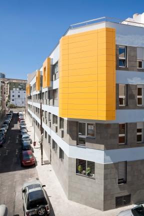 José Ramón Rodríguez Fernández Edificio de 28 viviendas en Santa Cruz de Tenerife